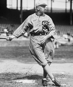 Eddie Collins, Chicago White Sox, Second Baseman. Columbia University graduate, highest paid player on White Sox of this era