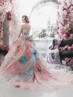 beautiful, glamour, and dress image