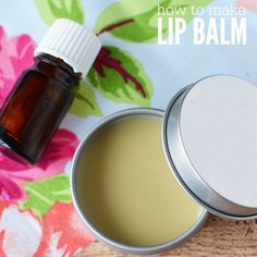 Learn how to make all natural lip balm. You will love this all natural cocoa butter lip balm. The entire family will want to use it. Make it today!