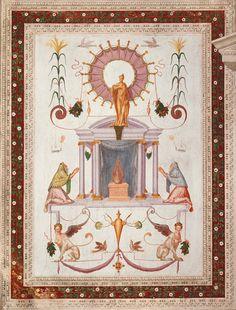 Villa Emo presenta esterni  essenziali, privi di decorazioni, mentre gli interni sono riccamente decorati con affreschi di Giovanni Battista Zelotti