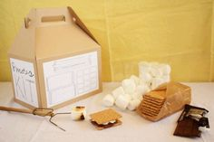 DIY Smores kit with downloadable printables