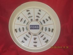 Ford Motor Company serving tray vintage
