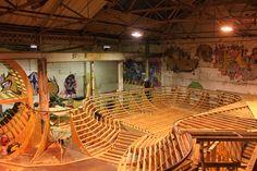 Skate Park, Fair Grounds, Interior, Indoor, Interiors