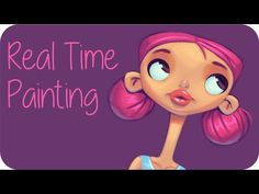 Real Time Painting | Photoshop Tutorial - YouTube