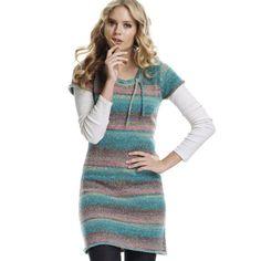 Ellos Πλεκτά φορέματα Φθινόπωρο Χειμώνας 2011 2012