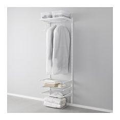 64 eurroALGOT Serie - begehbarer Kleiderschrank Systeme -IKEA
