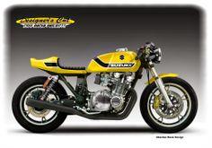 """Suzuki GS 1100 1982 """"Fenix"""" by Luis Alves Moto"""