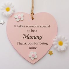 The plaque is decorated with gorgeous wooden butterflies, flowers and pink buttons and is ready to hang from a shabby jute twine. A Gorgeous WoodenMummy Gift Plaque. Mothers Day Gifts Uk, Happy Mothers Day Images, Diy Gifts For Mom, Mother Birthday Gifts, Mothers Day Crafts, Love U Mom Quotes, Family Quotes, Cricut Craft Room, Flower Ornaments