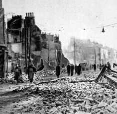 November 23rd 1940 First night of the Southampton Blitz.  Southampton was targeted as an important industrial centre, not least the Supermarine Spitfire factory, as well as being a major port.