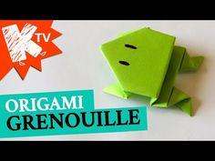 Une grenouille en papier, Comment faire origami - YouTube