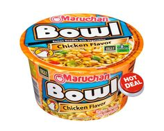 Publix Deal Alert - Maruchan Yakisoba Bowls as low as $0.16 each after BOGO sale & coupons. Valid 9/6 through 9/12 (9/7 - 9/13)! #coupon #deals #grocery #stores