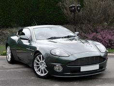 ride in an aston martin vanquish (and pretend edward cullen is driving LOL!)