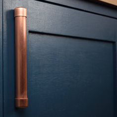 Chunky Copper Bar Pull MULTIPLE SIZES AVAILABLE Cabinet
