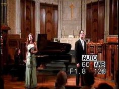 """Tenor James Valenti & soprano Ellie Dehn sing the Manon/Des Grieux duet from the opera Manon by Massenet, """"Toi! Vous!"""" at the 2006 Graduation Rec..."""