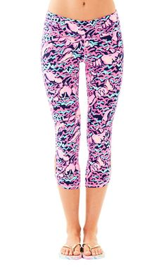 Luxletic Cropped Legging | 23668 | Lilly Pulitzer