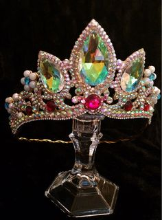 Princess Rapunzel tiara crown inspired by Tangled by TheBossChest