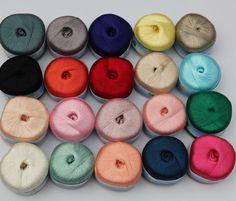 needle Knitting Yarn silk cotton Natural Soft lace,cotton yarn for knitting scarf litz wire sweater yarn,Crochet line 5