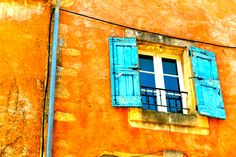 Provence - what a beautiful color or orange