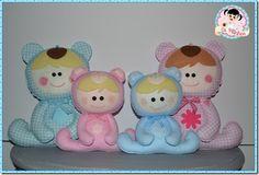 Family baby bears