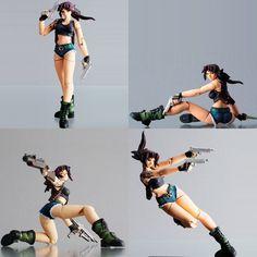 BLACK LAGOON: REVY | www.banzai-dojo.it Anatomy Reference, Art Reference Poses, Female Drawing, Anime Figurines, Black Lagoon, Anime Dolls, Art Poses, Action Poses, Beautiful Asian Women
