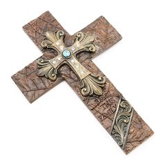 Bless This Family Cross Wall Hangings Western Decor