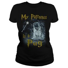 Pug Patronus...T-Shirt or Hoodie