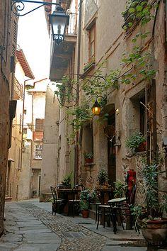 Orta San Giulio, province of Novarra, Piedmont, ITALY.
