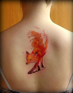 Fox tattoo picture - 50 Amazing Tattoo Pictures