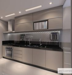 57 extraordinary kitchen design ideas for you that really like the beauty of - Modern Kitchen Modern Kitchen Interiors, Luxury Kitchen Design, Kitchen Room Design, Contemporary Kitchen Design, Kitchen Cabinet Design, Home Decor Kitchen, Interior Design Kitchen, Kitchen Cabinets, Kitchen Furniture