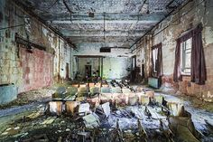 This Abandoned NYC Photo Series Portrays the City's Shameful Past #creepy #photos trendhunter.com