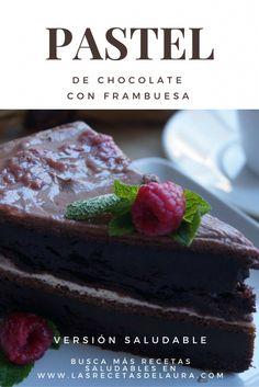 PASTEL SALUDABLE DE CHOCOLATE Receta Saludable Facil y rapida para toda la familia