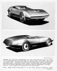 1968 Charger III concept car