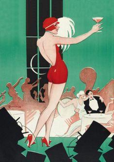 Vintage Poster - Cabaret Dance - Burlesque