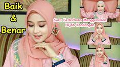 Hijab Tutorial Segi Empat, Youtube, Beauty, Beauty Illustration, Youtubers, Youtube Movies