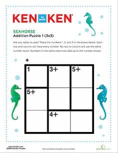 Ken Ken puzzles!