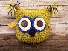 #Crocheting Project on @Craftsy on Pinterest: Crochet #Owl #Plushie {pattern coming soon!!}