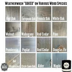 Weathered Grey Stain, Oak Stain, Dark Walnut Stain, Grey Wood, Gray Wash Furniture, Painted Furniture, Stained Shiplap, Gray Stained Cabinets, Wood Stain Colors