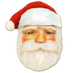 This christmas papercraft is a Santa Claus Mask, designed by Canon Papercraft. Try out this fun mask and you, too, can become Santa Claus! Halloween Masks Kids, Paper Toys, Paper Crafts, Canon, Head Mask, Paper Mask, Free Christmas Printables, Animal Masks, Farm Yard