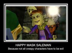 happy mask salesman by ~laicka03 on deviantART