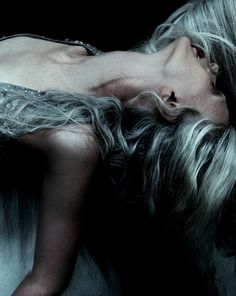 Kristen McMenamy photographed by Sølve Sundsbø for Love Magazine Spring/Spring 2012.