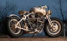 Мотоциклы в стиле стимпанк.