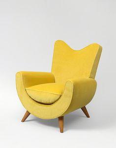 "Jean Royère, '""Ambassador"" armchair', ca. 1950"
