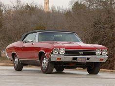 1968 Chevrolet Chevelle SS-396 Convertible