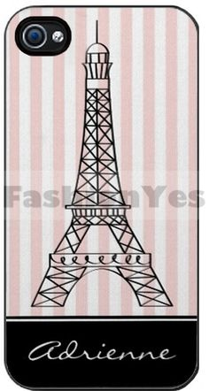Eiffel Tower Case For Apple Iphone 4/4s by FashionYes on Etsy, $35.99
