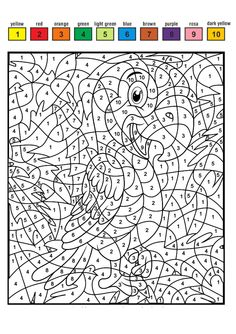 Horse Coloring Pages, Colouring Pages, Coloring Books, Color By Number Printable, Hidden Pictures, Paint By Number, Coloring Pages For Kids, Art For Kids, Diy And Crafts
