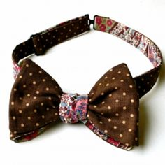 Reversible Bow Tie from Patch by Panod at Spitalfields Market on Sundays, £30.00