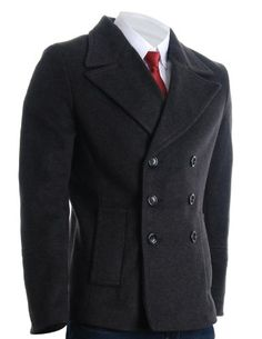 FLATSEVEN Mens Winter Double Breasted Pea Coat Short Jacket (CT121) Charcoal, M FLATSEVEN http://www.amazon.com/dp/B00A4Z6K7S/ref=cm_sw_r_pi_dp_NGPrub0S1T7NX