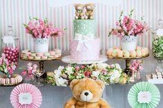 Sweet Table from a Teddy Bear Forever Friends Birthday Party via Kara's Party Ideas KarasPartyIdeas.com (11)