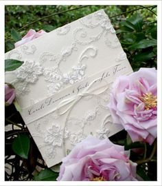 Huetopia Designs wedding invitations