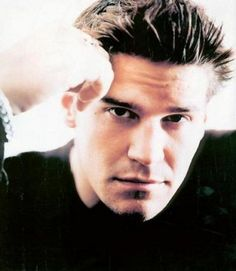Yeah - David Boreanaz is a great looking man - but for me it's ALL about Angel. Love that undead guy. Booth And Bones, Hot Vampires, Buffy Summers, David Boreanaz, Ideal Man, Sarah Michelle Gellar, Buffy The Vampire Slayer, Guys And Girls, Boys